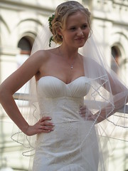 GUM, Moscow (ChihPing) Tags: travel portrait gum bride russia moscow olympus f18 45mm omd    em5