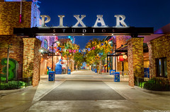 Revisiting Pixar Studios (TheTimeTheSpace) Tags: night nikon disney disneyworld pixar waltdisneyworld hdr matthewcooper pixarstudios hollywoodstudios d7000