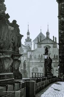 les statues du pont Charles