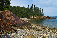 beach (eva8*) Tags: beach coast rocks maine pebbles owlshead