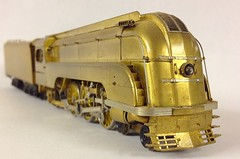 Streamliners - Various Streamline Steam Locomotives in HO Scale - Union Pacific  P-13 4-6-2  - by Overland Models (OMI) (bslook1213) Tags: ho googleimages brasslocomotive hon3 streamlinedlocomotives yahoopictures streamlinersstreamlinedlocomotivesbraskmtktmpfmbalboamodelrailroadssteamlocomotivepassengerhon3oscalehoscalenscalegscaleon3japanese japanesebrass