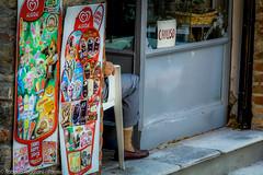 Cliente recidivo (ReoBerto) Tags: ice bar sock shoes closed cream forbidden stop entry ingresso chiuso calzino divieto vietato