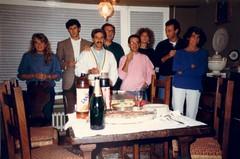 Compleanno di Piero - ottobre 1986 (cepatri55) Tags: andrea monica 1986 roberta piero fifo cesare ripa lella cepatri cepatri55