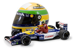Minichamps 1:18 Williams FW14 Nigel Mansell / Ayrton Senna 'Silverstone Taxi' - British GP 1991 (StrikeEagle492) Tags: scale canon model williams canon20d helmet f1 renault replica grandprix silverstone mclaren formulaone 1991 formula1 mansell senna eos20d 118 diecast ayrtonsenna minichamps nigelmansell fw14 12helmet