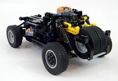 WIP03 (LegoMarat) Tags: lego rally technic dakar raid hummer pf modelteam moc powerfunctions