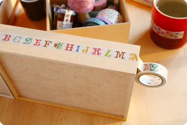 日本mt和紙膠字母A-M(限定款)