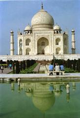Taj Mahal Agra Uttar Pradesh India Feb 1990 065 (photographer695) Tags: taj mahal agra uttar pradesh india feb 1990