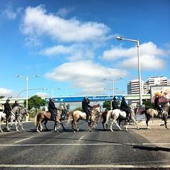 Lisboa (JSEBOUVI : 2 millions views !) Tags: street horse square squareformat rua garde belm iphone iphoneography instagramapp
