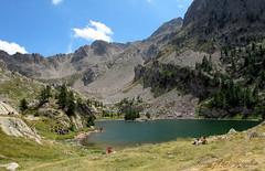 Lac de Trecolpas (Tinou61) Tags: mountain lake nature montagne landscape walk lac paca paysage mercantour randonnée alpesmaritimes ruby3 lacdetrecolpas