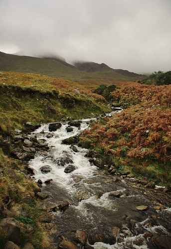 Gaddagh River, Hag's Glen, 120m