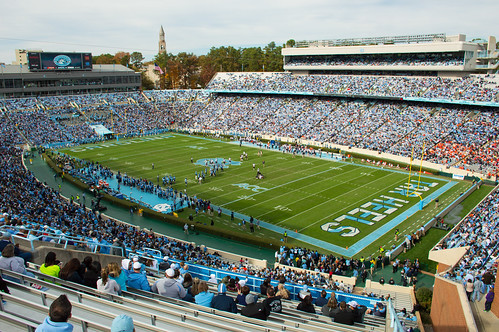 Kenan Memorial Stadium at the University by yeungb, on Flickr