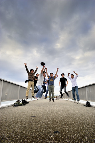 Group photo / Jumping