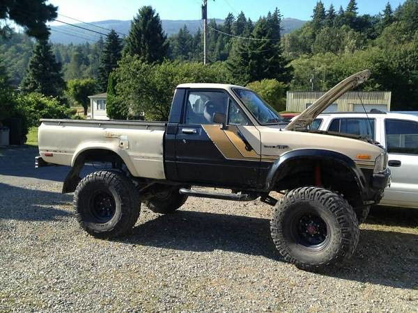 truck 4x4 toyota tacoma lifted