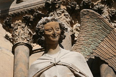 Le sourire de l'ange  -  Reims (alainragache) Tags: sculpture smile angel ange cathdrale sourire rheims