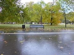Ningum (Jnio Klo #9) Tags: parque chuva banco praa
