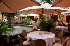 Tables at the Fontana at the Biltmore Hotel - Coral Gables, FL (ChrisGoldNY) Tags: usa america canon poster forsale florida miami restaurants tables posters brunch albumcover fl hotels bookcover buffet biltmore umbrellas bookcovers coralgables albumcovers eater southflorida licensing miamidade thebiltmorehotel hotelchatter miamist chrisgoldny chrisgoldberg chrisgold chrisgoldphoto chrisgoldphotos biltmorebrunch