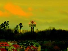 Flugradar Filderstadt Flughafen Stuttgart STR P1280178 (eagle1effi) Tags: sun lumix dusk panasonic dmmerung sonne stetten filderstadt zs30 reisezoom travelzoom tz40 dmctz41 travellerzoom travelerzoom tz41 panasoniclumixdmctz41