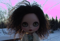 january 5, doll outside