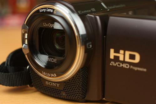 SONY Handycam HDR-CX590V デジタルビデオカメラ