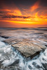 Merewether (Kiall Frost) Tags: sea seascape colour beach water rock clouds sunrise newcastle landscape flow nikon surf australia nsw merewether rockshelf kiallfrost d800e