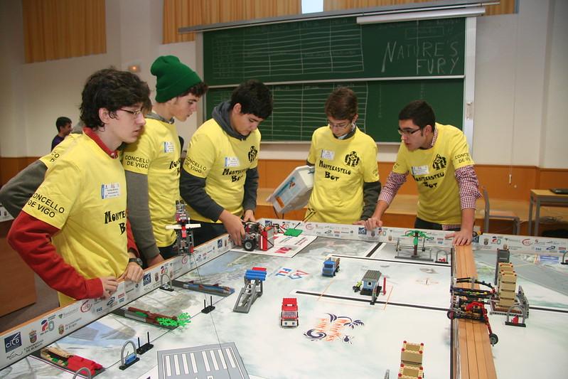 Semifinal FLL Robots en Burgos
