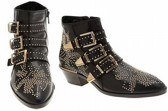 Chloe鉚丁靴