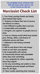 Narcissist checklist (preciouskidsgreatparents) Tags: kids parents paradise outdoor furniture great narcissist precious wicker checklist