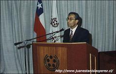 Charla en la Universidad Educares, Sede Viña del Mar, 1998.