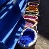 Choose a colour (halifaxlight) Tags: street shop square paint colours shadows sunny morocco medina chefchaouene ilovemypics vanagram