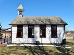 Pennsylvania | Ogle (e r j k . a m e r j k a) Tags: winter shadows pennsylvania explore cranberry butler schoolhouse ogle us19 oneroom erjkprunczyk