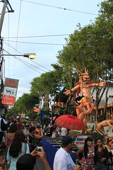 Jl. Legian, Kuta (Triple_B_Photography) Tags: world travel vacation bali holiday colour tourism contrast canon wonderful indonesia asian eos asia afternoon traditional faith religion culture warmth lifestyle location tourist explore journey elements tropical destination ornamental hindu hinduism kuta offerings balinese nyepi lokal ogohogoh