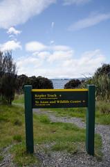 Kepler track (Spannarama) Tags: trees newzealand sign forest path nz signpost tramping kepler keplertrack