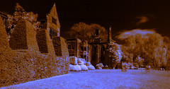 Nymans Infrared (Tractorboy1981) Tags: uk house garden sussex ruin national elements trust infrared nymans