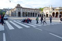 giornata mondiale della danza (Festival Danza Estate) Tags: show street art dance day arte danza indiana della festa bergamo spettacolo artisti nazionale giocoleria contemporanea ballerini strisce pedonali giornata danzatori attraversamento