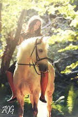 Megan & Milly (AmyyJG) Tags: horses horse girl animal animals fairytale photoshop photography model pretty mare photographer photoshoot pony ponies welsh modelling equestrian equine equus welshpony equinephotography equestrianphotography ajgphotography littleluskerphotoshopactions