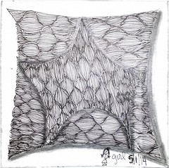 Done for the wacky weekly challenge! (onenonly782) Tags: tangle copic zentangle