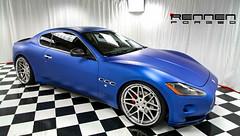 Rennen Forged R8 Matte Blue Maserati Granturismo (Rennen International 01) Tags: blue rennen forged maserati matte granturismo r8