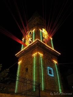 Mazzarino campanile Chiesa del Signore dell'Olmo