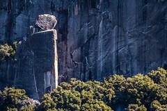 """Precarious Boulder #1"" (Stitcher) Tags: stone landscape nationalpark boulder yosemite"