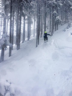 A fun powder day at Flachau Feb 2015