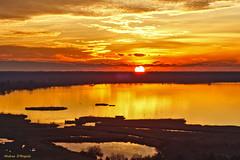 Tramonto sul lago di Massaciuccoli (Darea62) Tags: sunset clouds lake massaciuccoli massarosa versilia tuscany landscape panorama toscana paesaggio tramonto