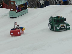 DSCN2059 (wjtlphotos) Tags: snow fun creative cardboard derby karting wjtl