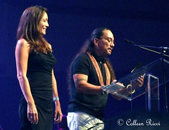 Kealii Reichel (colleeninhawaii) Tags: music celebrity hawaii dance oahu hula lei sing winner hawaiian honolulu presentation perform awards televised nahoku2014