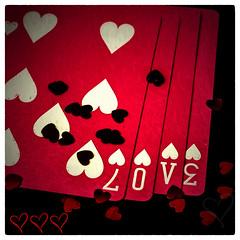 Love Hearts Square (Jeffrey Johnson ~~shutter_fringe) Tags: red love square hearts valentine squareformat valentinesday topaz