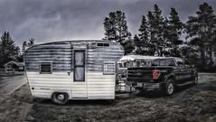 Moving Day (Steve Walser) Tags: camping trailer rv traveltrailer vintagetrailer