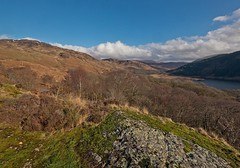 Loch Trool (penlea1954) Tags: park uk english robert nature stone forest scotland scenery bruce famous hill peak battle southern trail loch finest scots bruces merrick loyal dumfries galloway highest untamed commemorating glentrool unspoilt trool