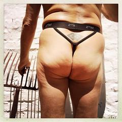 IMG_2649 p 61 years old (francois f swanepoel) Tags: photostream arse bum buns butt buttocks gstring jockstrap men male males p61 briefs underwear skants undies booty ass boude stert gat