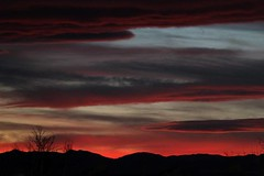 February 5, 2015 - The day ends with a gorgeous sunset. (Michelle Jones)