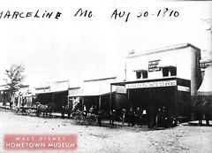 Main Street USA-Kansas Avenue (Dirt Street), Marceline, MO 1890