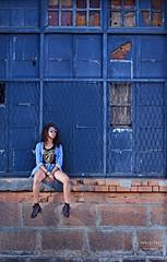 Waiting in Vain.. or Not (setra.Raz) Tags: street portrait urban fashion lady 50mm model nikon streetphotography jeans portraiture denim fashionista mode urbex profoto strobist d7000 sb910 fashionmodele
